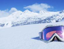 reserve bril op Wintersport